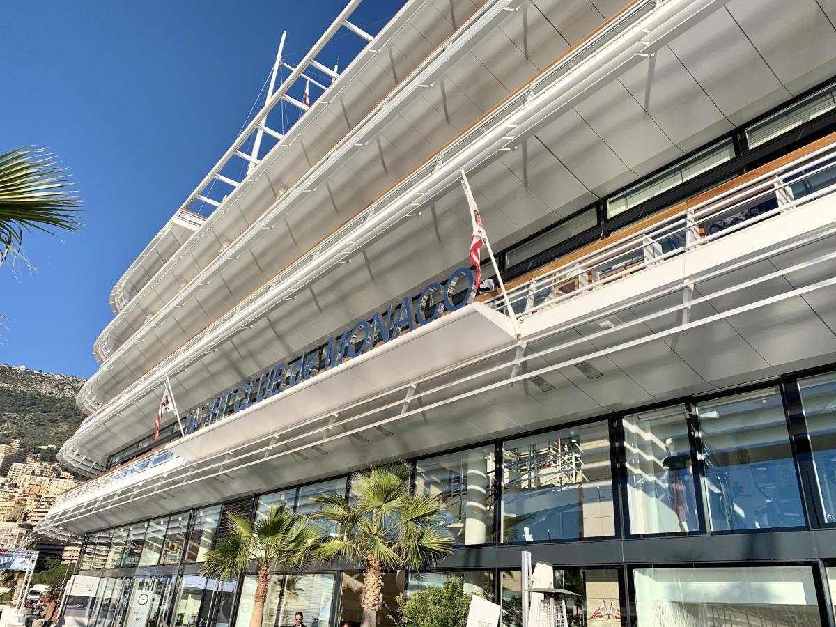 Yacht Club de Monaco | 36. Primo Cup – Trophée Credit Suisse | Act 5 Monaco Sportboot Winter Serie 2020 | 6. - 8. Februar 2020 | J/70 GER 468 | GRÜN Sailing | Foto: GRÜN Sailing Team
