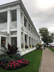 Der Stil des im Jahr 1924 errichteten Hauses erinnert an Südstaaten Plantation Häuser